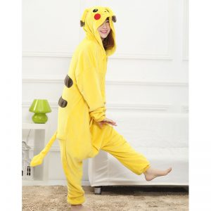 Pikachu Onesie Side View