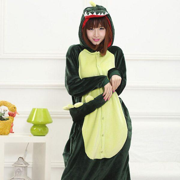 Green Dinosaur Onesie SIngapore